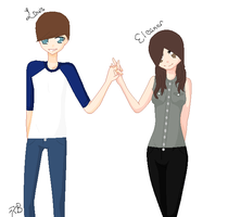 Louis and Eleanor by acer1321300