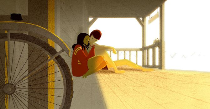 The red sweatshirt by PascalCampion