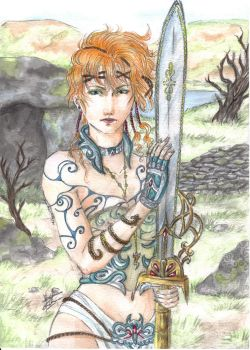 celtic warrior by sangdeslymbes