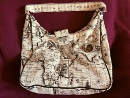 Atomic Artifacts - World Travelers Bag by Anna-Atomic