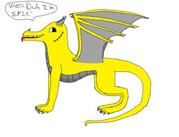 Epic Face Dragon (Really Outdated) by YoshiSoren