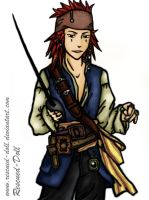 Captain Axel Sparrow by Rescued-Doll