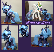 Princess Luna Blind Bag custom by XantheStar