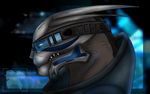 Garrus Vakarian by Mganga-The-Lion