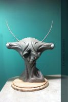 Creature bust by Cleytonoliveira