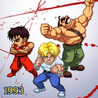 1993 - Mighty Final Fight by Jiggeh
