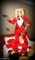 Harley Quinn: Infinite Crisis Pajama Party by HarleyTheSirenxoxo