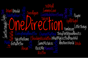 One Direction Wordle by EverlastingRide