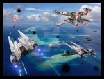Scarif Attack by unusualsuspex