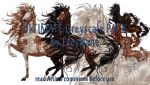 Ultimate Greyscale Pack Saddlebred by EscyKane