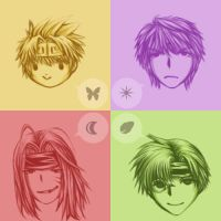 Sanzo Party by Annachuu