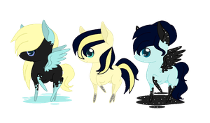 Inky Breedable Batch for Bluesapphire97* (CLOSED) by PricessOfTheNight