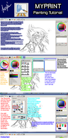 MyPaint Painting Tutorial by AtsusaKaneytza