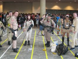 Ghostbusters Photo-shoot by AngstyGuy