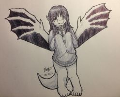 Inktober 2015 Day 4 by Dragonz5683
