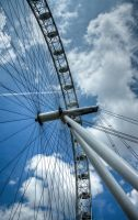 London Eye by purplekyloe