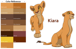 TLK Kiara Color Reference by FeralHeartsFan