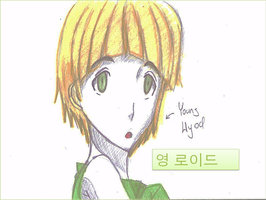 Ninjago Lloyd Anime Korean by Princess-Riko