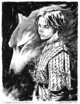 Arya Stark commission by elena-casagrande