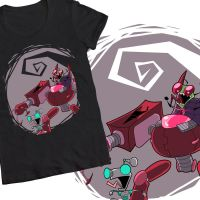 Invader ZIM tee: Mission of Doom by AnnaMariaBryant