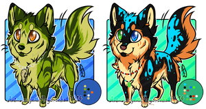 .:CLOSED AUCTION: 2 Canines Adoptables, Batch 2:. by Mayasacha