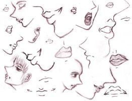 lips lips and more lips by dootchan