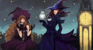 Pchat: Witches by ippus