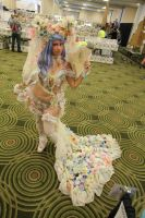 full flower nymph with train ^_^ conjure 2014 by FiveFootFireStarter