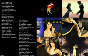 Squall and Rinoa by AuraIan