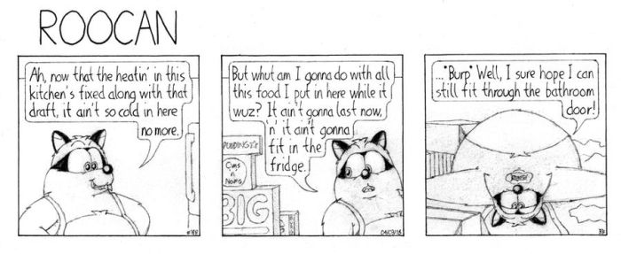 Roocan Strip 188 by BruBadger