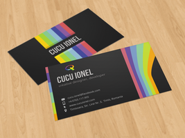 Creative Business Card 2 by CucuIonel