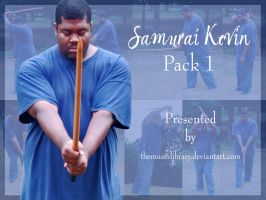 Samurai Kevin PACK 1 by themuseslibrary