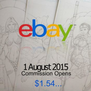 eBay commission opens 1st August from less than $2 by artofadamlumb