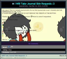 :Marshall Lee Journal Skin: by VampieArtist