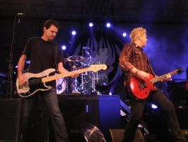 Greg K and Dexter of Offspring at Festival Pierre by MelyssaThePunkRocker