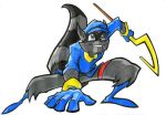 Smile - Sly Cooper by ChildlikeArtist