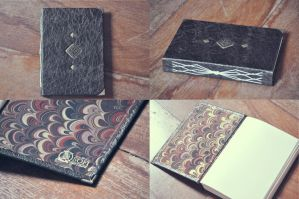 Medieval Leather Book by sahdesign