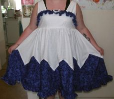 Sewing Commission - Customised graduate dress by daiin