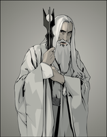 Saruman the White by verucasalt82