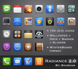 Radiance 2.0 Theme for iPhone