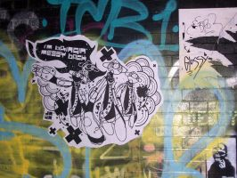 Jawatrons - Paste Up by Jawa-Tron