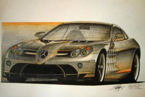 Mercedes-Benz SLR McLaren 722 by EdgardoS