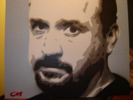 Louis CK by Stencils-by-Chase