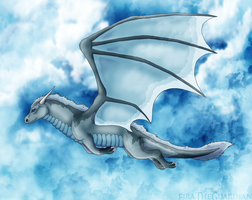 Soaring through the skies by Cylithren