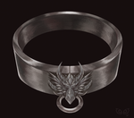 Dragon Collar - Design Commission by clover-teapot