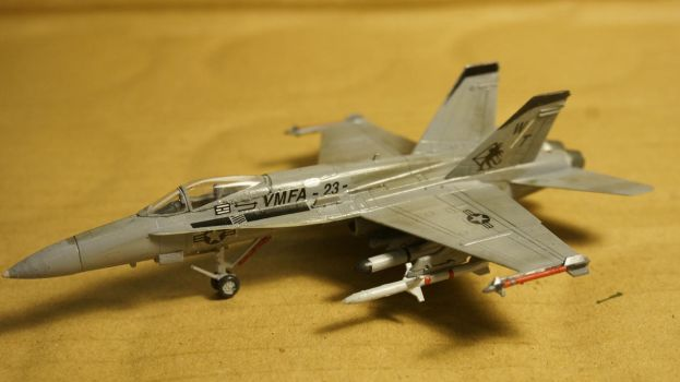 Finished: 1/144 Ace/Revell F/A-18C Hornet by Ofnir-1