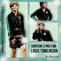 +Pack PNG Louis Tomlinson #01. by PerfectPhotopacks