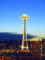 Space Needle by StephaniTheArtist