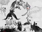 Shadow sketches dump by ThisPoisonedOne
