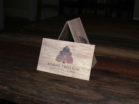 Sodas Trillium Furniture Studio Business Card by BRENDANakaSNOOPY